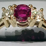 Ruby _ Diamond Ring